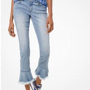 Michael Kors Izzy Flounce Jeans